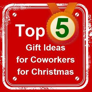 Gift Ideas for Coworkers for Christmas