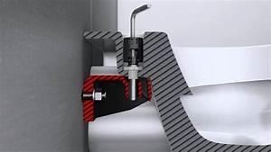 Wand Wc Montage : montageanleitung suprafix wc befestigung villeroy boch youtube ~ Watch28wear.com Haus und Dekorationen