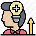 Positive Icon Icons Thinking Attitude