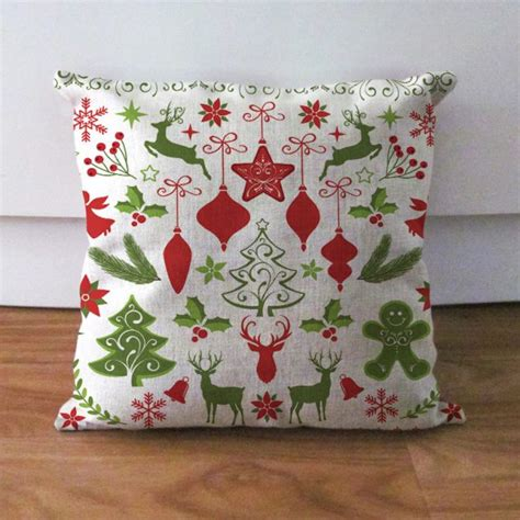 charming handmade christmas pillow gifts   occasion