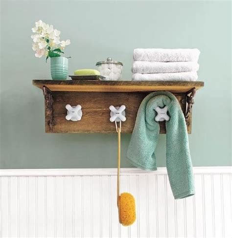 diy bathroom decor ideas 19 easy diy coat rack design ideas