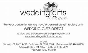 an introduction to wedding registry etiquette for the With wedding invitation etiquette gift registry
