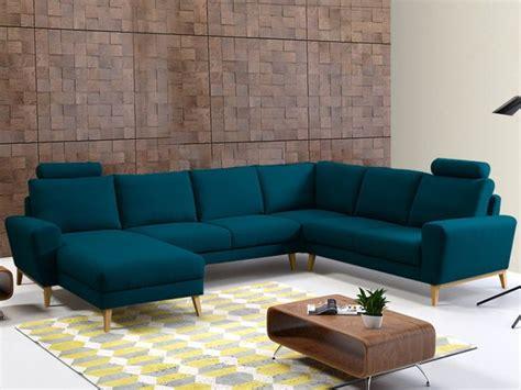 canapé d angle bleu les 25 meilleures idées concernant canapé panoramique sur