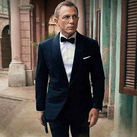 James Bond No Time to Die Midnight Blue Tuxedo - 40% OFF