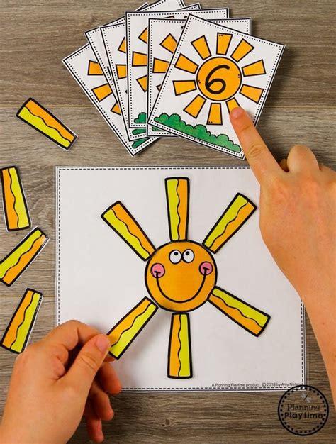 Summer Preschool - Planning Playtime | Counting activities ...