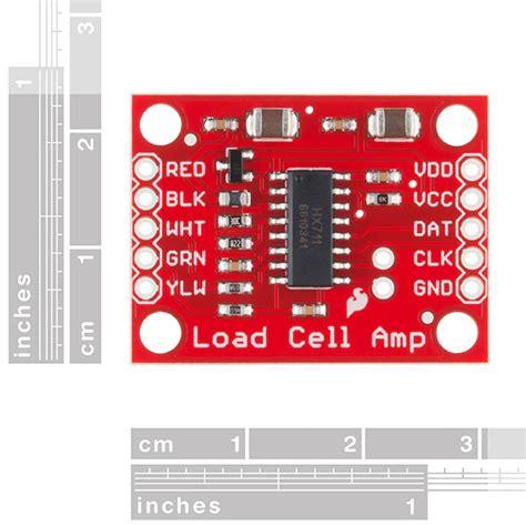 sparkfun load cell lifier hx711 sen 13879
