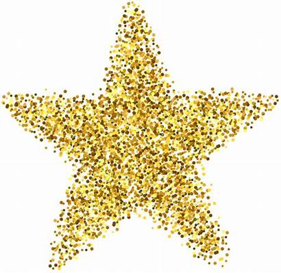 Glitter Clip Star Decoration Clipart Transparent Yopriceville