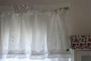 Rideaux Style Romantique : rideaux inspiration shabby ~ Melissatoandfro.com Idées de Décoration