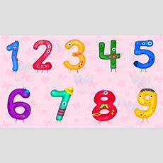 "Learn Numbers And Math For Kids  Preschool Learning And Numbers Counting ""1 To 10"" Youtube"