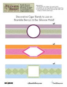 Free Cigar Band Soap Label Template