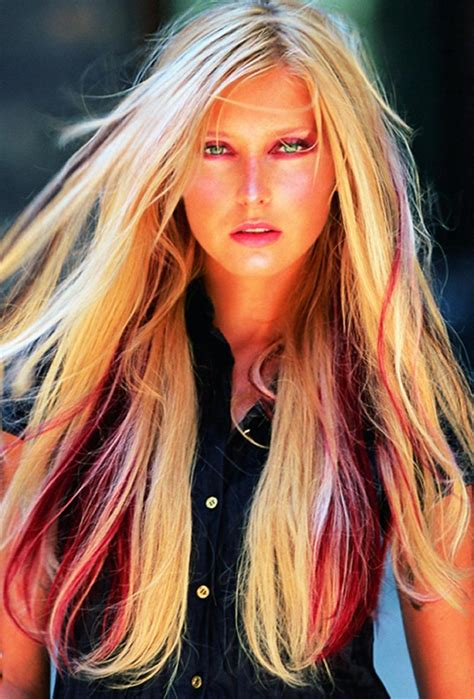 hair with colored highlights hair with colored highlights hairstyles hair