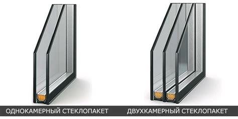 Какие стеклопакеты лучше — однокамерные или двухкамерные?
