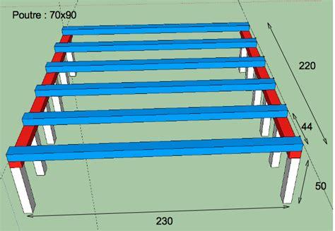 bureau estrade fabriquer une estrade pour glisser un lit table de lit