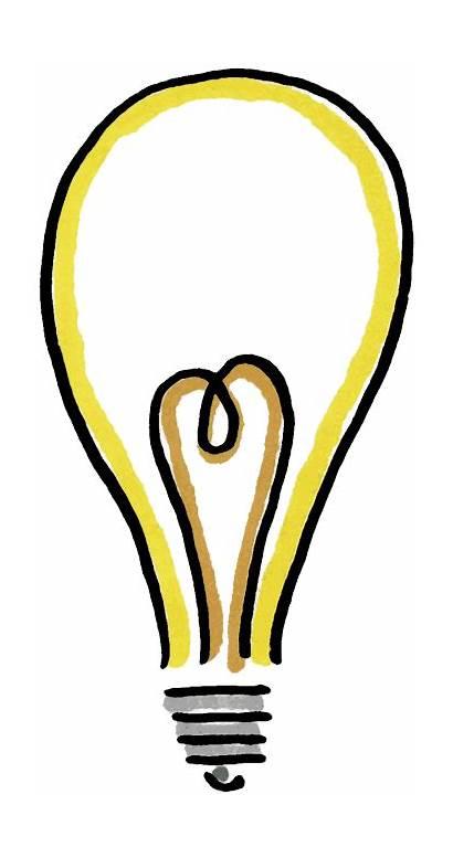 Clipart Bulb Clip Lightbulb Clipartion