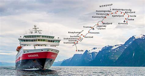 hurtigruten norwegen kreuzfahrt nordkap ms nordnorge