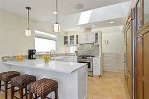 Galley Kitchen Island Design House Design Galley Kitchen Design In Modern Living