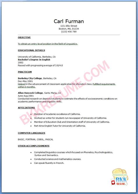 Recent Graduate Resume 2015 by Search Results For Graduate Nursing Curriculum Vitae