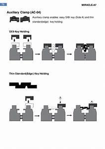 Miracle A7 Key Cutting Machine User Manual