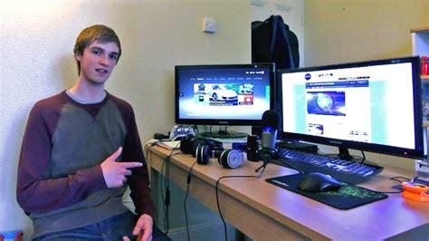 home essentials cheap new ali a 39 s gaming setup room tour epic setup