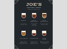 Customize 283+ Coffee Shop Menu templates online Canva