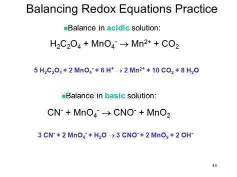 Chapter 20 Oxidationreduction Reactions (redox Reactions)  Ppt Video Online Download