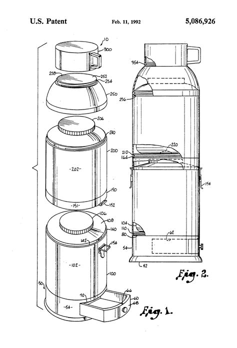 patent  dual thermos google patents