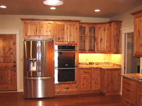 natural rustic alder cabinets natural knotty alder wood kitchen cabinets popular