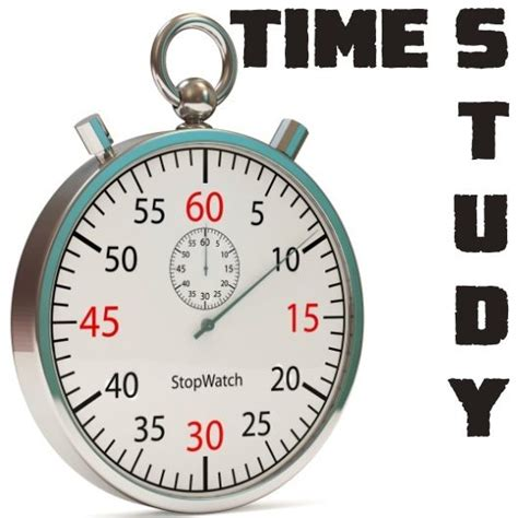 time study time study meaning objectives advantages limitations