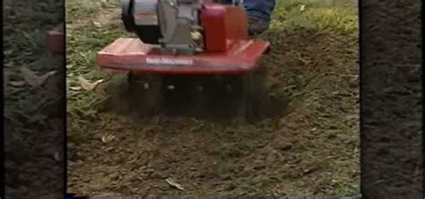 How To Level Your Backyard by How To Use A Rototiller To Level A Yard 171 Home Appliances