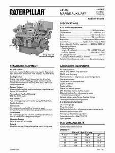 Cat 3408 And Cat 3412 Manuals  Spec Sheets