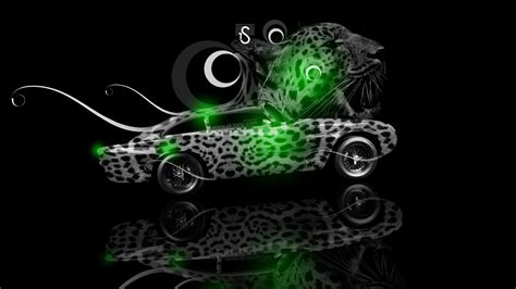 aston martin db fantasy leopard car  el tony