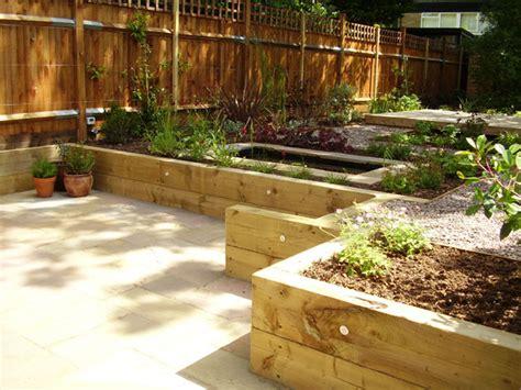 2 Level Backyard Landscaping Ideas