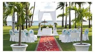 mariage ile de mariage a la plage