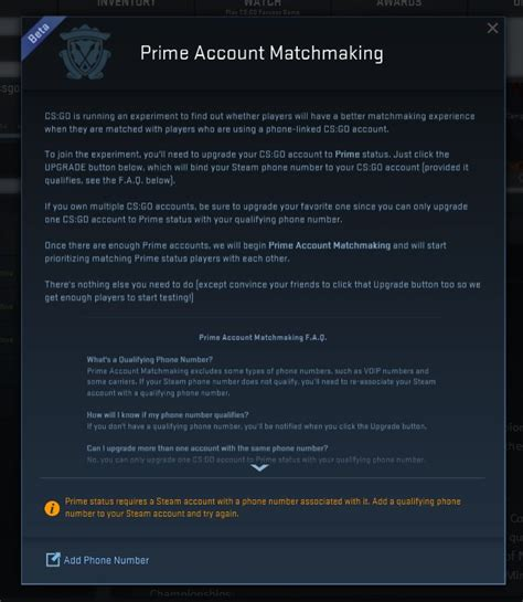 phone number prime cs go adds quot prime matchmaking quot replaces inferno with nuke