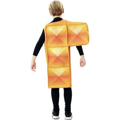Disfraz Tetris naranja para Niños【Envío en 24h】