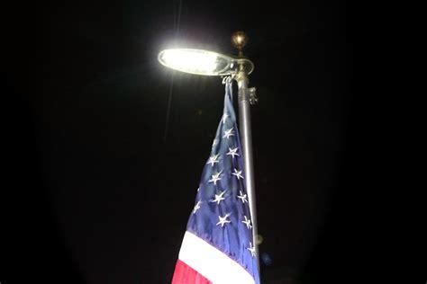 telescoping flagpole with solar light solar flagpole light uncommon usa flagpoles flagpole