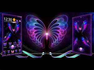 Neon Butterfly Theme