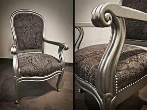 Fauteuil Style Voltaire : fauteuil cabriolet moderne pour un confort moelleux ~ Teatrodelosmanantiales.com Idées de Décoration
