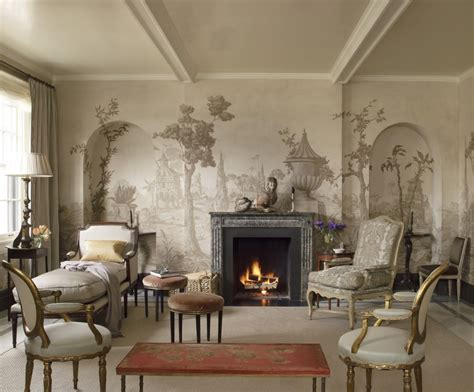 10 Living Room Designs With Wall Murals by Vintage Wall Murals Wallpaper Wallpaperhdc