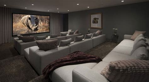 Home Theater Room Design Budget by Architecture Modern Spacious Home Cinema Room Design