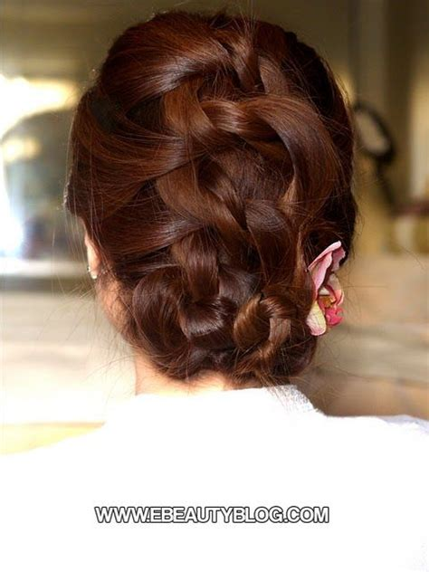 Easy Do It Yourself Updo Hairstyles by Easy Knotted Updo Hair Tutorial Do It Yourself Updos