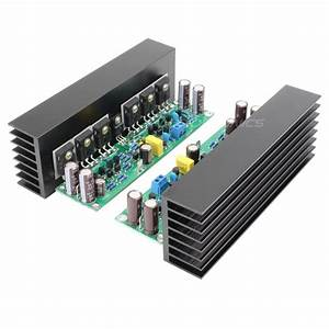 Lj L15 Mosfet Amplifier Boards 150w 8 Ohm Mono  Pair