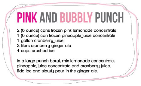 Pink Punch For Baby Shower - the best baby shower punch recipes cutestbabyshowers