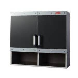 rubbermaid fasttrack 30 in laminate garage wall cabinet