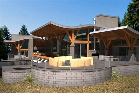 Home Design Vancouver by Caulfield West Vancouver House Newell Design
