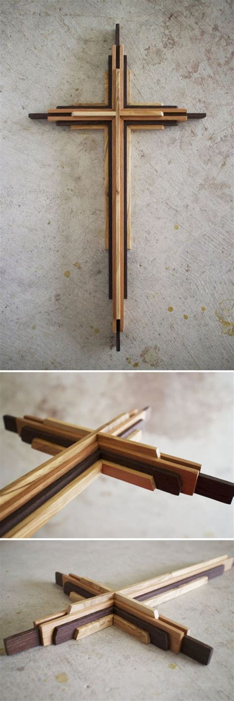 diy   wooden cross plans crafty pinterest wood crosses plywood  beams