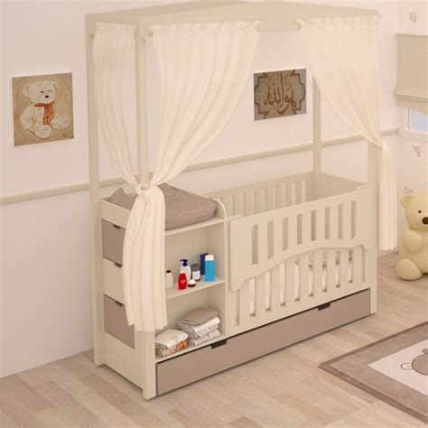 chambre bebe evolutif lit bébé combiné évolutif meuble de rangement chambre