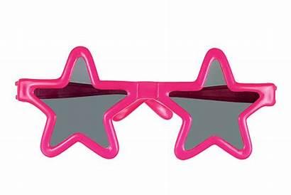 Sunglasses Star Glasses Shaped Party Glitter Background