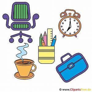 Gratis Clipart Gegenstände vom Arbeitstisch  Clipart