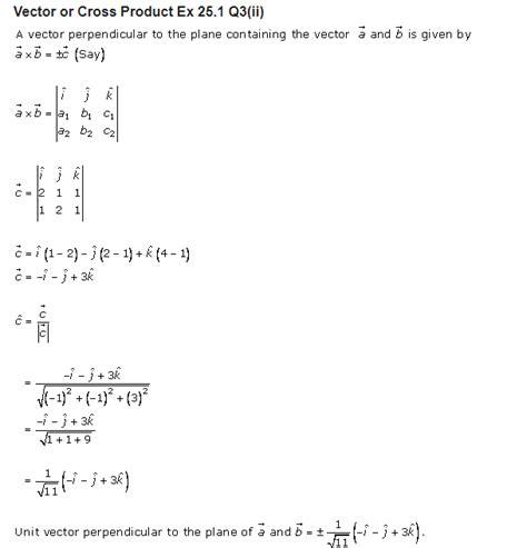 sharma class  solutions maths chapter  vector
